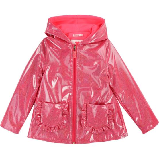 Billieblush Pink Sparkle Raincoat