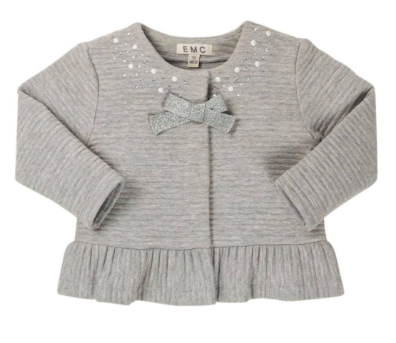 EMC Sparkly Jacket with Bow