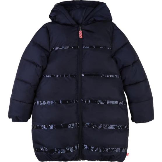Billieblush Navy Puffer Jacket