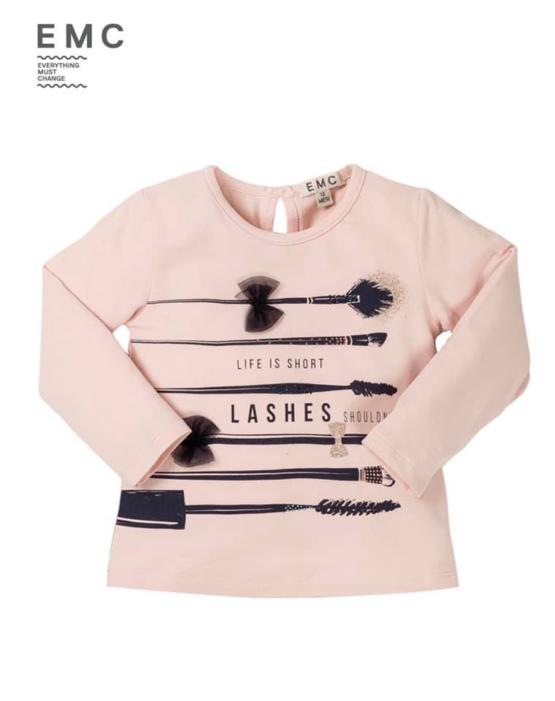 EMC Makeup Brush Long Sleeve Tshirt