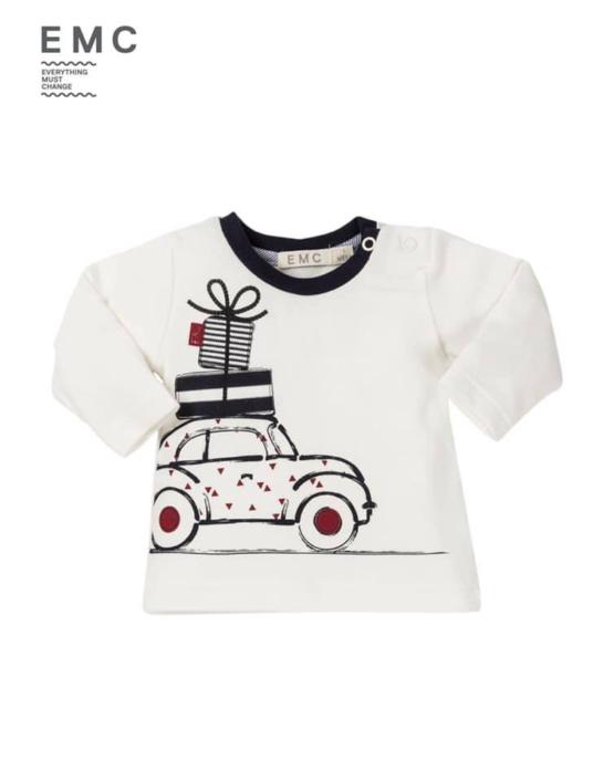 EMC Car Print Long Sleeve Tshirt