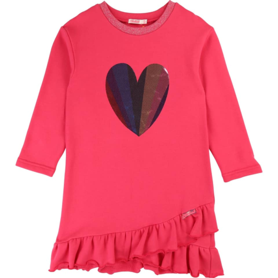 Billieblush Heart Applique Dress