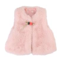 Billieblush Fluffy Pink Gilet