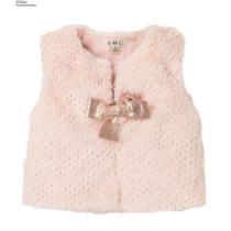 EMC Pink Fur Sparkly Gilet