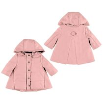 Mayoral Pink Coat with Bow