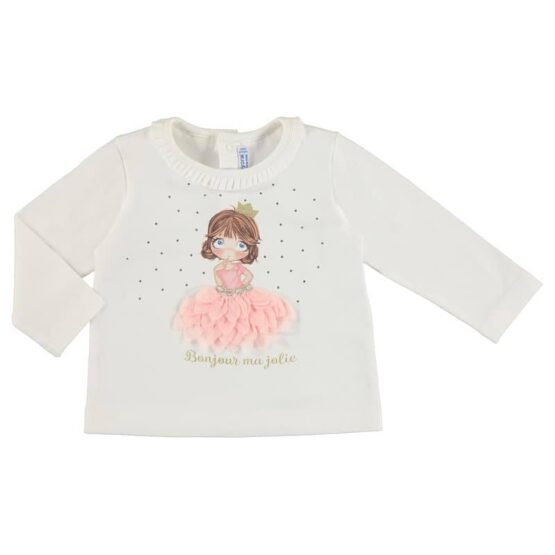 Mayoral Doll Long Sleeve Top