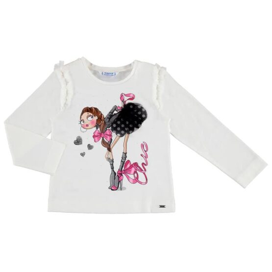 Mayoral Chic Long Sleeve Top