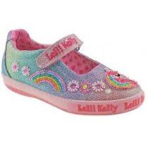 Lelli Kelly Rainbow Unicorn shoes—LK1082r