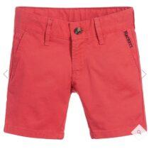 Hackett red chino shorts 800683