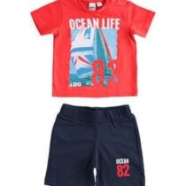 iDO Boys 100% cotton 2 piece Short Set J626