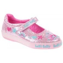 Lelli Kelly Pink Glitter Shoes -LK1072