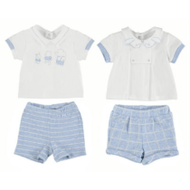 Mayoral 4 Piece T-Shirt And Patterned Shorts Set 1666