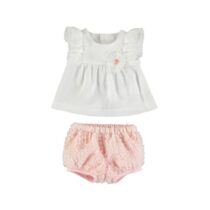 Mayoral Tulle blouse and knickers 1140