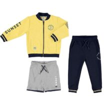 Mayoral mixed tracksuit with print designs 3813