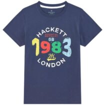 Hackett London 1983 Print Short Sleeved T-Shirt