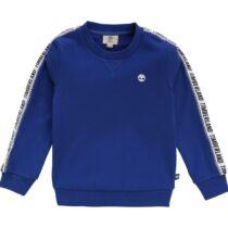 Timberland Fleece Sweatshirt With Logo Trim