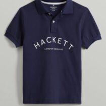 Hackett navy polo top 561183