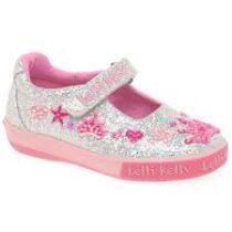 Lelli Kelly Tiara Glitter shoes -LK1078