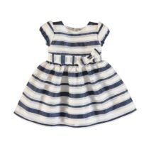 Mayoral Striped Dress With Bow 3926