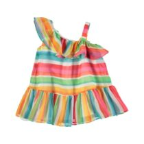 Mayoral Striped Dress 3954