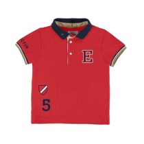 Mayoral Short Sleeve Polo Shirt With Print Design 3154
