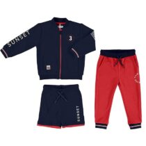 Mayoral Mixed Tracksuit With Print Design 3813