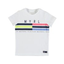Mayoral Short Sleeved T-Shirt With Stripes 3053