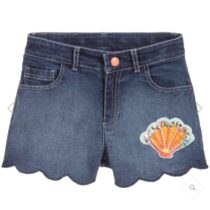 Billieblush Scallop leg Denim Short U14364