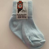 Basic blue sock