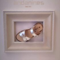 Andanines Silver Sandal