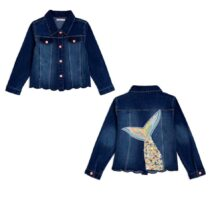 Billieblush Mermaid Tail Denim Jacket U16241