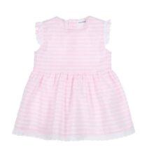 GYMP pink lace trim dress 0400
