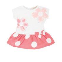 EMC pink/white flower dress