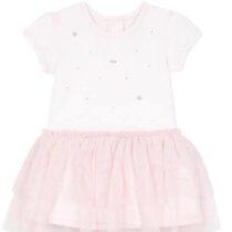 Baby Girl Pale Pink Swarovski Tulle Dress 9Q30102