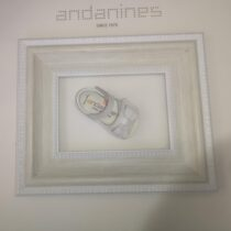 Andanines Baby White Sandal