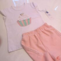 Daga Cupcake Top And Shorts Set