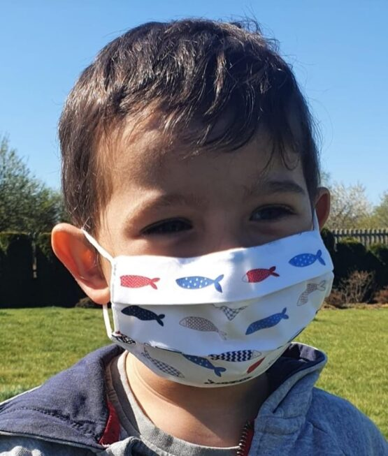 Daga Barrier Face Mask (with built in nose wire)