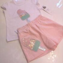 Daga Ice Lolly Top And Shorts Set