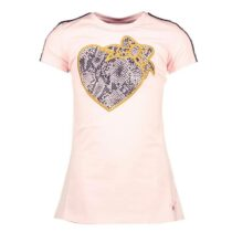 Le Chic Pink Dress With Loveheart Design