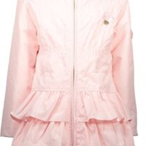 Le Chic Pink Frill Coat 294728