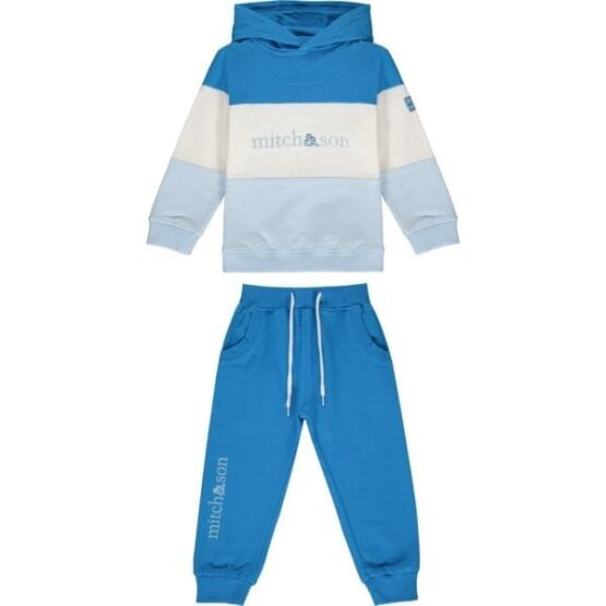 Mitch & Son DIEGO Colour block hoody tracksuit (Pre-Order)