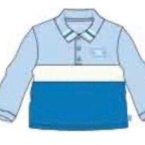 Mitch & Son GEORGE Colour block polo top (Pre-order)