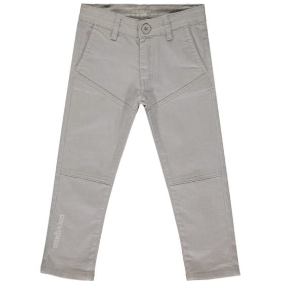 Mitch & son KINGSTON Twill trouser light grey (Pre-order)