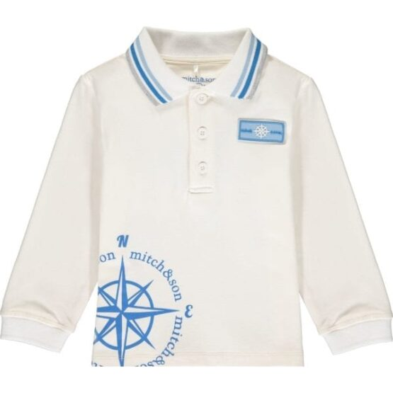Mitch & son ASHTON Compass polo top (Pre-order)