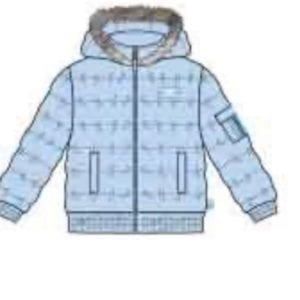 Mitch & son RYKER Padded jacket with faux fur (Pre-Order)