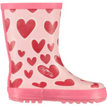 A Dee SPLASH Hearts welly boot
