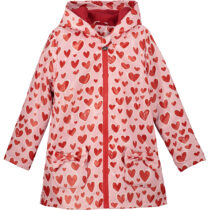 A Dee EROLE heart Raincoat