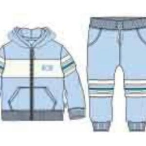 Mitch & son IVAN Zipper tracksuit with mesh panels (pre-order)