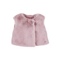 Mayoral fur vest rose 2363