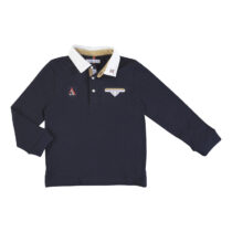Mayoral L/s smooth detail polo navy 4128